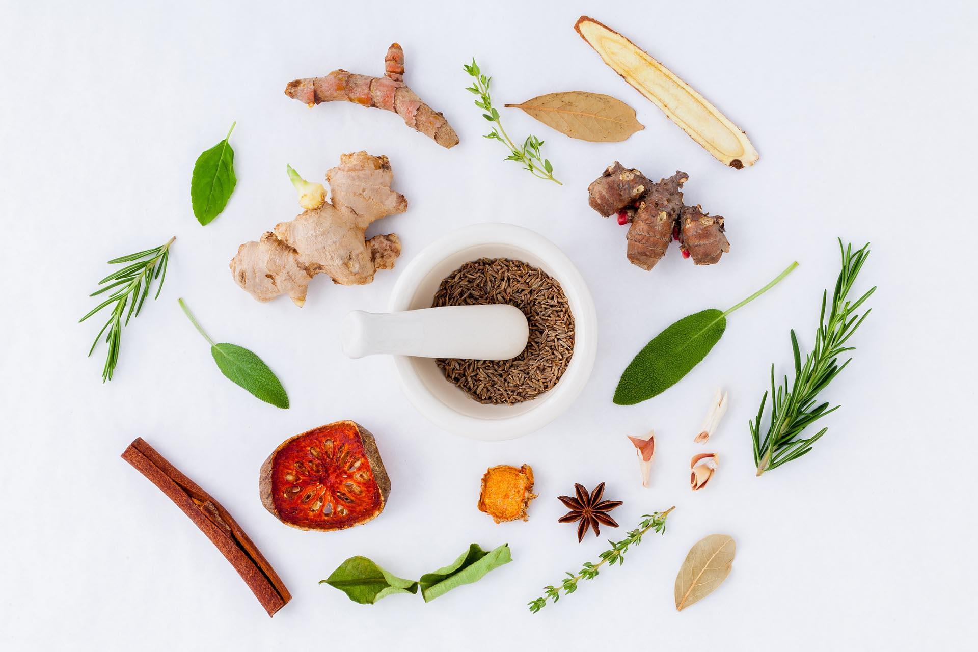 le spezie medicinali