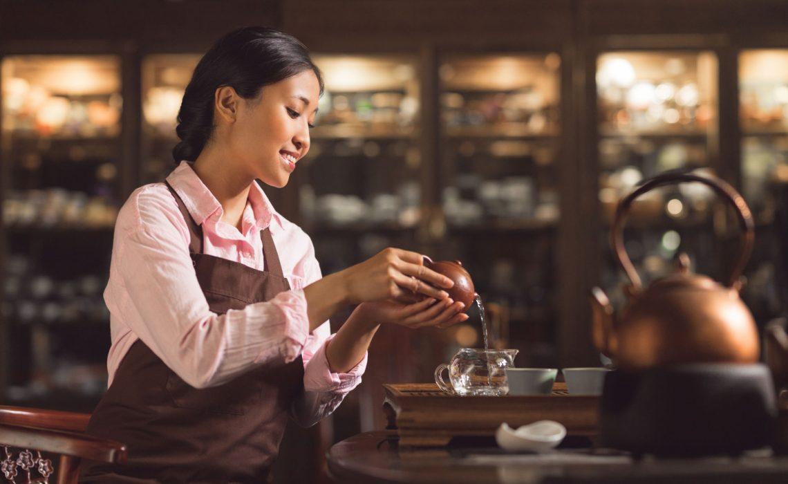 Antica Drogheria Degustazione Del Te Tea Sommelier 01