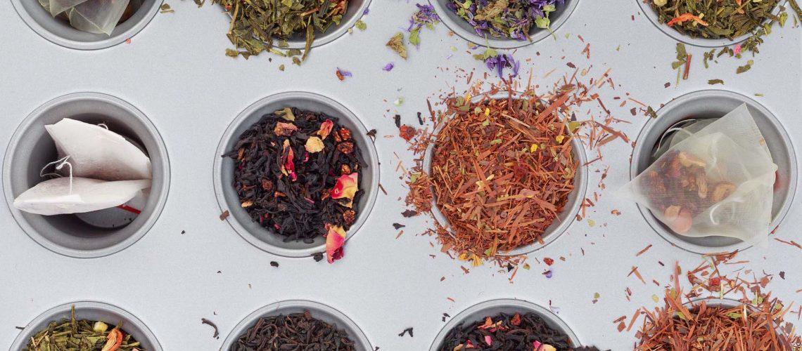 principali varietà di tè